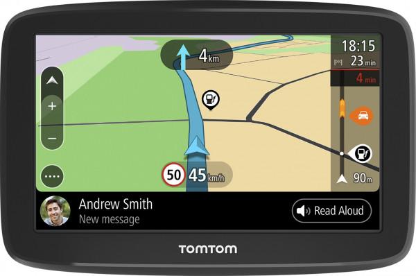 "TomTom GO BASIC PKW Navi 5"" Touchscreen Kartenmaterial Europa TMC Bluetooth"