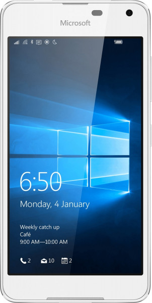 Microsoft Lumia 650 light silber-weiß