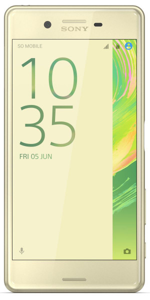 """Sony Xperia X Performance lime 32GB 23MPX 5"""" Android Smartphone ohne Simlock"""