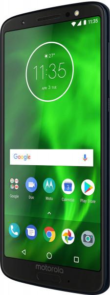 "Moto G6 DualSim blau 32GB LTE Android Smartphone o. Simlock 5,7"" Display 12MPX"