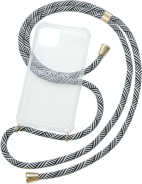 NECKLACY Necklace Case for iPhone 11 Pro Max Domino Swirl