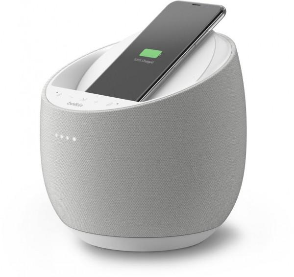 Smarter Lautsprecher Belkin SOUNDFORM ELITE Hi-Fi Speaker mit induktivem Laden