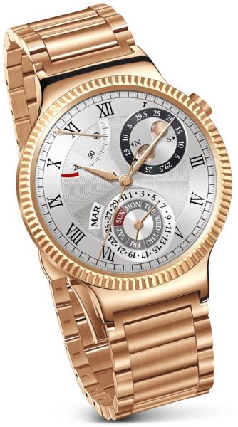 Huawei Smart Watch Elite Edelstahl Gliederband 4GB Gold Uhr Fitness Tracker
