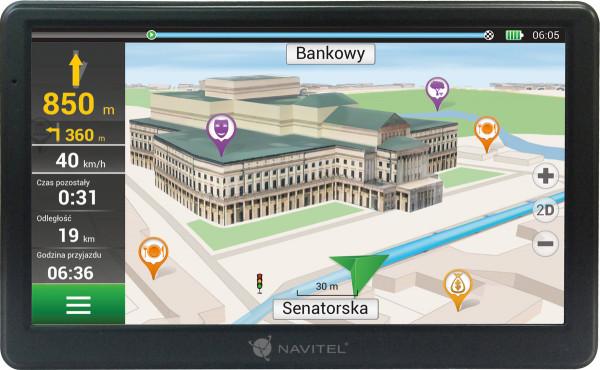 "Navitel E700 Navigationsgerät PKW-Navigationsgerät 7"" Display Europa 800 x 480"