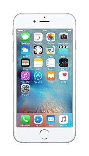 Apple iPhone 6s 64GB Silber 4,7 Zoll LTE Smartphone ohne Simlock 12MP Kamera