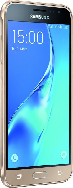 """Samsung J320F GALAXY J3 2016 gold 8GB LTE Android Smartphone 5"""" Display 8MPX"""