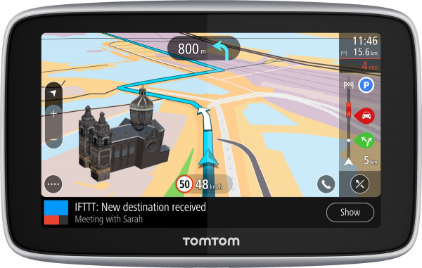 TomTom GO PREMIUM 5 World 5'' Farbdisplay WLAN Bluetooth Navigationsgerät