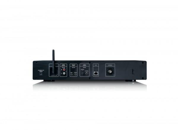 Lenco DIR-250BK Internetradio mit DAB+, BT (Schwarz)