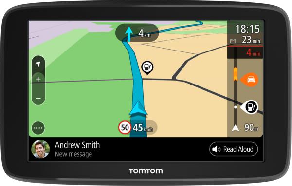 "TomTom GO BASIC EU 45 Länder Autonavigation 6"" Display Bluetooth WiFi TMC"