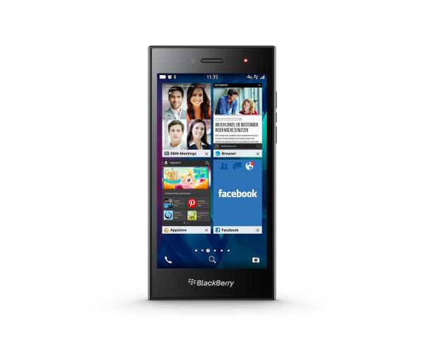 "BlackBerry LEAP grau 16GB 5"" LTE Business Smartphone ohne Simlock 8MPX"