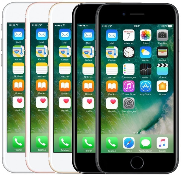 "Apple iPhone 7 32GB LTE iOS Smartphone 4,7"" Retina Display 12 Megapixel 4K"