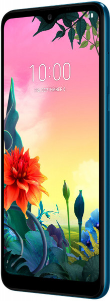 """LG K50s DualSim Moroccan Blue 32GB LTE Android Smartphone 6,5"""" Display 13 MPX"""