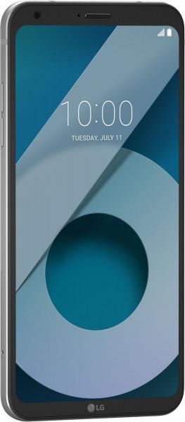 "LG Q6 silber 32GB LTE Android Smartphone ohne Simlock 5,5""Display 13Megapixel"
