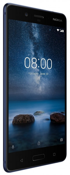 "Nokia 8 blau 64GB LTE Android Smartphone ohne Simlock 5,3"" Display 13 Megapixel"
