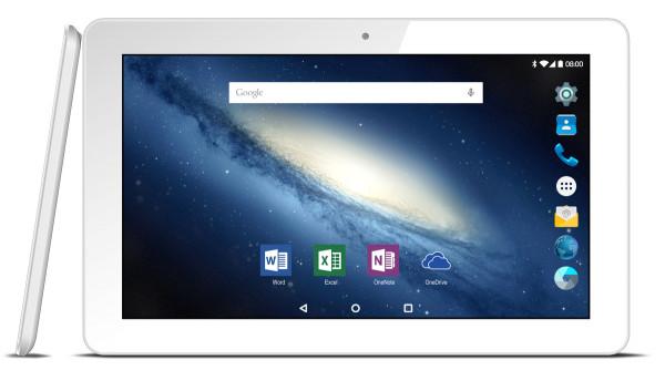 "Odys Space plus Android Tablet PC WLAN 10,1"" Display 3G 16GB Kamera eBook weiß"