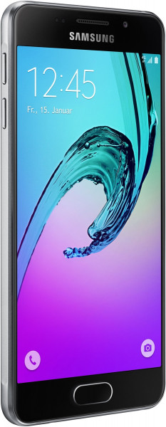 "Samsung GALAXY A3 2016 schwarz 16GB 4,7"" Display Android Smartphone ohne Simlock"
