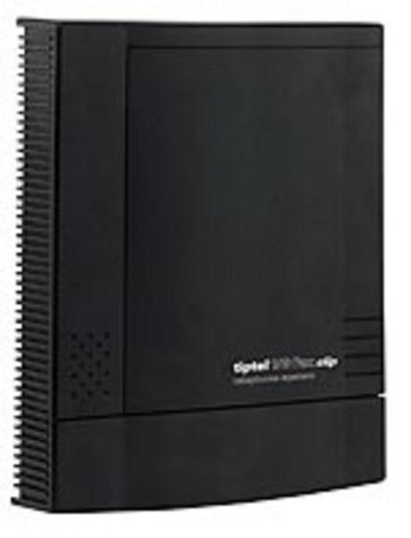 tiptel 1/8 Fax CLIP 8 analoge Nebenstellen 1 analoge Amtsleitung schwarz