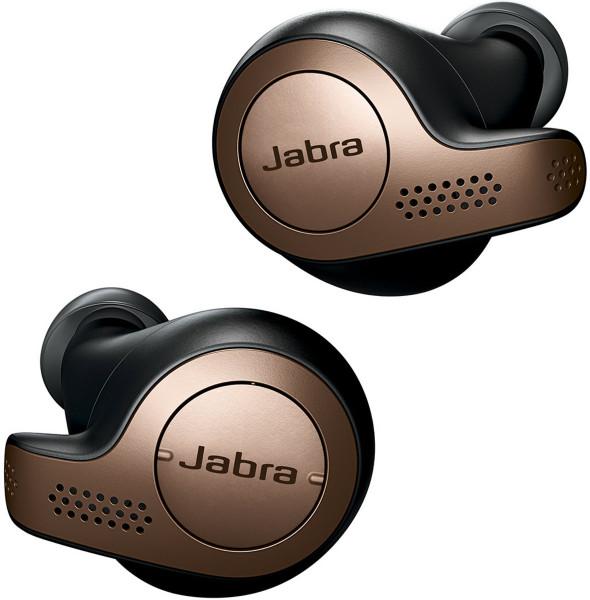 JABRA Elite 65t Bluetooth Headset schwarz-kupfer